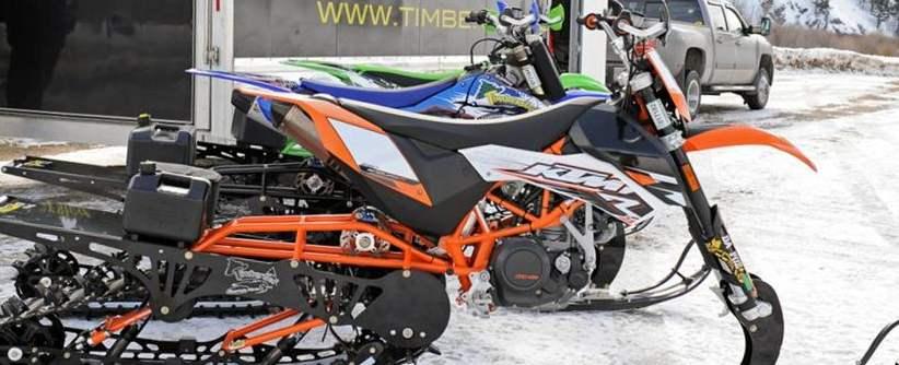 timbersled motocross